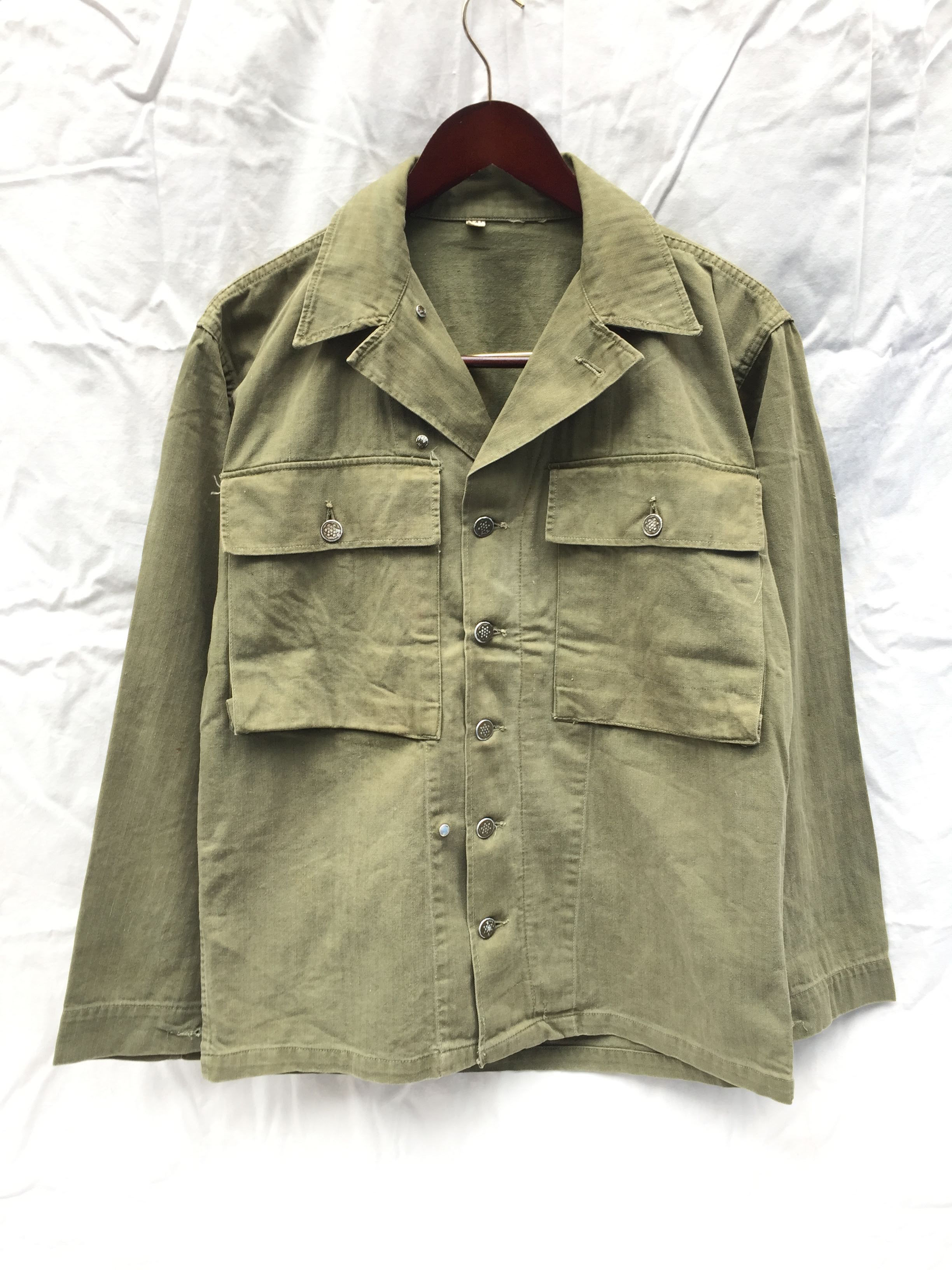 40's Vintage Dead Stock US Army M-43 HBT Jacket